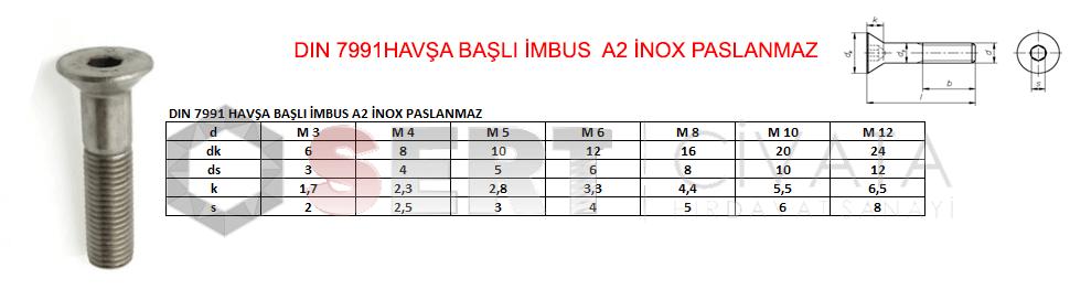 dın-7991-havsa-basli-imbus-a2-inox-paslanmaz-Sert-Civata-Basaksehir-ikitelli-İmalat-toptan-Celik-Metal-Kaliteli-Perakende-Ucuz-Istanbul-Turkiye