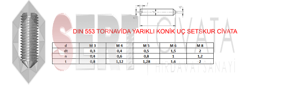 din-553-Tornavida-Yarikli-Konik-Uc-Setskur-Sert-Civata-Basaksehir-ikitelli-İmalat-toptan-Celik-Metal-Kaliteli-Perakende-Ucuz-Istanbul-Turkiye