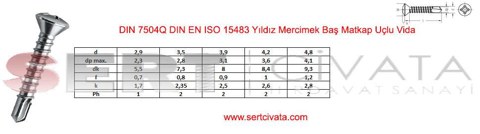 din-7504Q-din-en-iso-15483-Yildiz-Mercimek-Bas-Matkap-Uclu-Vida-sac-Sert-Civata-Basaksehir-ikitelli-İmalat-toptan-Celik-Metal-Kaliteli-Perakende-Ucuz-Istanbul-Turkiye