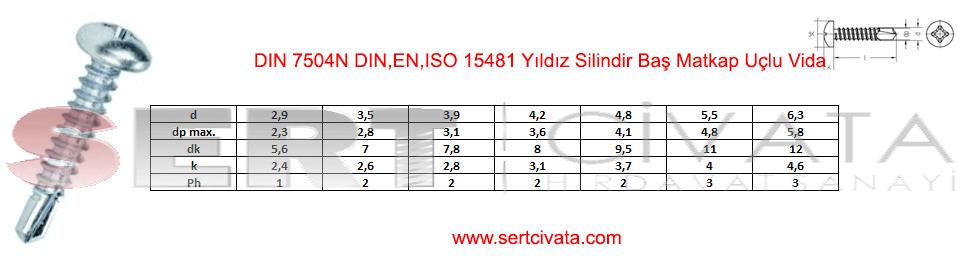 din-7504n-din-en-iso-15481-Yildiz-Silindir-Bas-Matkap-Uclu-Vida-Sert-Civata-Basaksehir-ikitelli-İmalat-toptan-Celik-Metal-Kaliteli-Perakende-Ucuz-Istanbul-Turkiye