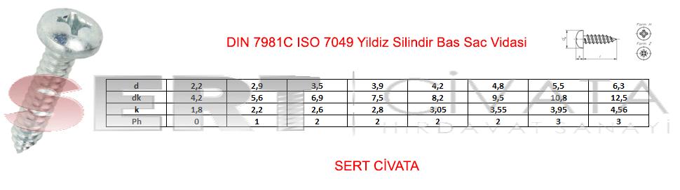 din-7981c-ıso-7049-Yildiz-Silindir-Bas-Sac-Vidasi-Sert-Civata-Basaksehir-ikitelli-İmalat-toptan-Celik-Metal-Kaliteli-Perakende-Ucuz-Istanbul-Turkiye