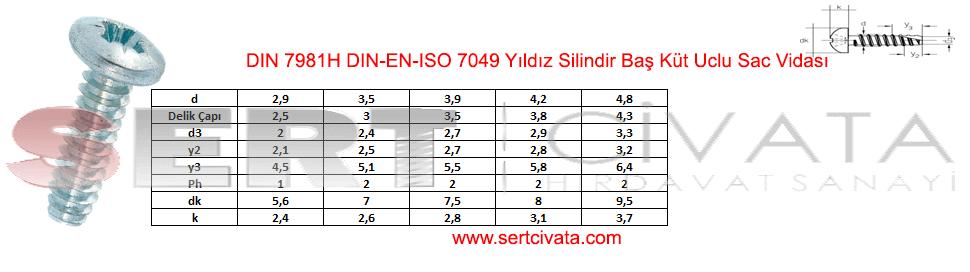 din-7981h-din-en-iso-7049-Yildiz-Silindir-Bas-Kut-Uclu-Sac-vidasi-Sert-Civata-Basaksehir-ikitelli-İmalat-toptan-Celik-Metal-Kaliteli-Perakende-Ucuz-Istanbul-Turkiye