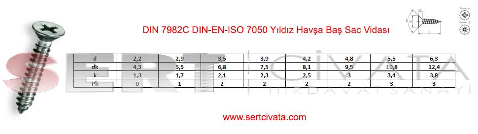 din-7982c-din-en-iso-7050-Yildiz-Havsa-Bas-Sac-Vidasi-Sert-Civata-Basaksehir-ikitelli-İmalat-toptan-Celik-Metal-Kaliteli-Perakende-Ucuz-Istanbul-Turkiye