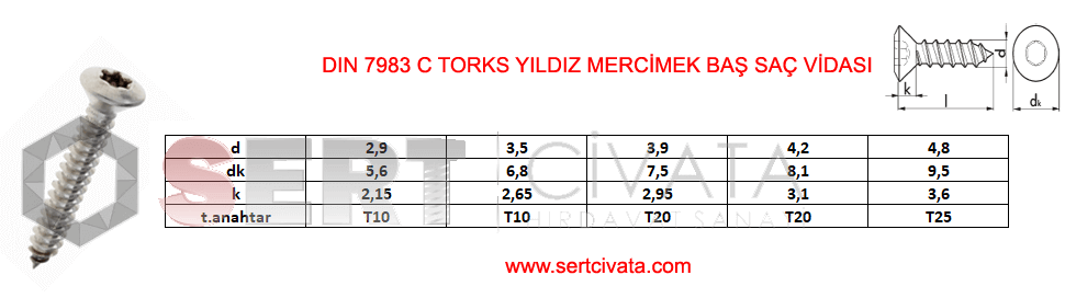 din-7983C-din-en-iso-7051-Torks-Mercimek-Bas-Sac-Vidasi-Torx-Sert-Civata-Basaksehir-ikitelli-İmalat-toptan-Celik-Metal-Kaliteli-Perakende-Ucuz-Istanbul-Turkiye