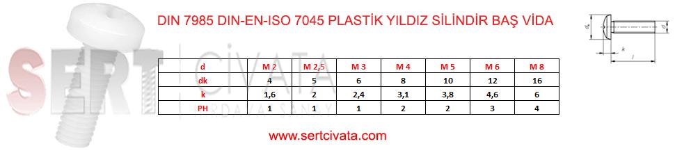 din_7985_En_iso_-7045_Plastik_Yildiz_Silindir_Bas_Vida_Plastik_Polyemid_Sert-Civata-Basaksehir-ikitelli-İmalat-toptan-Celik-Metal-Kaliteli-Perakende-Ucuz-Istanbul-Turkiye
